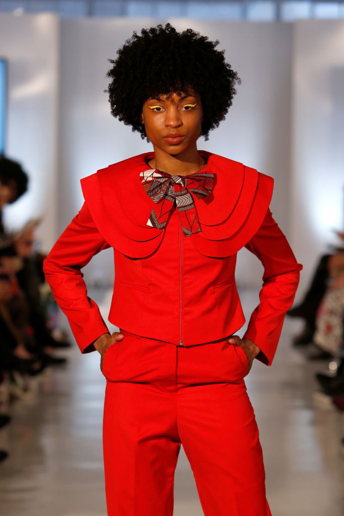 Oxford Fashion Studio - NYFW AW18 - Colour By Nandi Madida